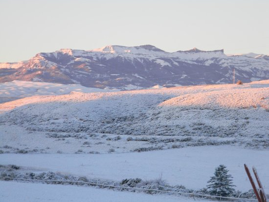 K3 Guest Ranch Bed & Breakfast: Crisp Snowy morning at K3 B&B