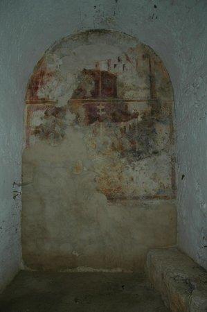 Villa of Sao Cucufate: Zona da antiga villa romana adaptada a igreja nas Idades Média e Moderna
