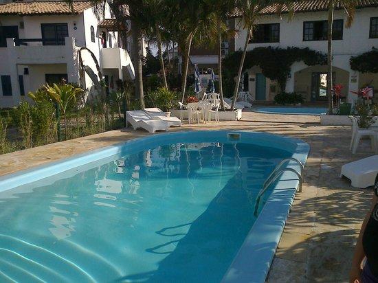 Praias Brancas: piscina
