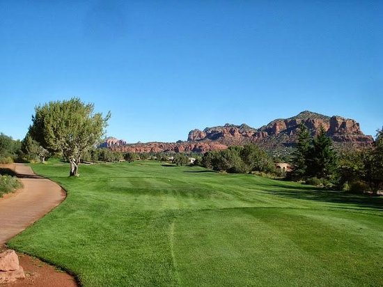 Sedona Golf Resort: Nice views