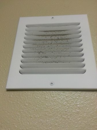 Oxford Suites Chico: dirty vent