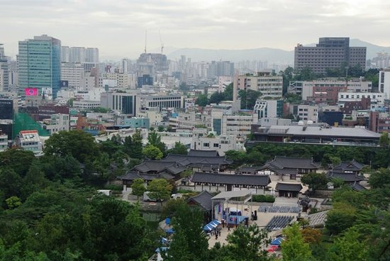 International Seoul Youth Hostel: A view from the room