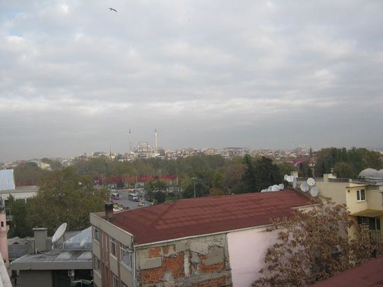 Hotel Tilia: vista da balcone albergo