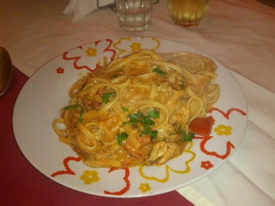 Osteria Malafemmina: Spaghetto alle alici.