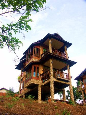 Khun Yuam, Thailand: บ้านพัก