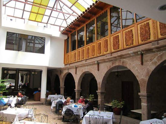 Terra Andina Hotel: Dining room