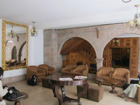 Terra Andina Hotel: Tea area