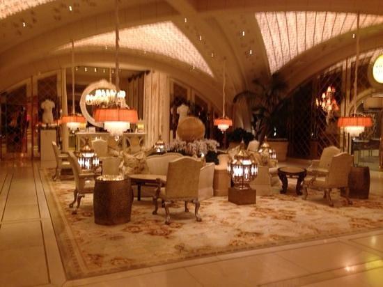 The Spa at Encore : reception area