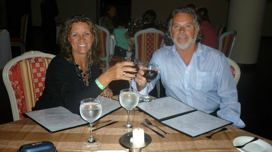 Hesperia Isla Margarita: cena romantica