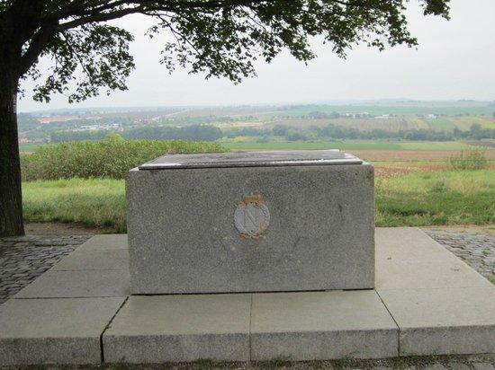 Památník Mohyla míru: Site of Napoleon's camp on the eve of the battle