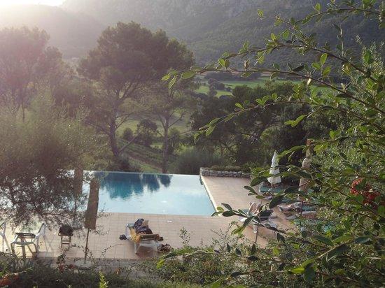 Finca Hotel Son Palou: Blick auf den Pool
