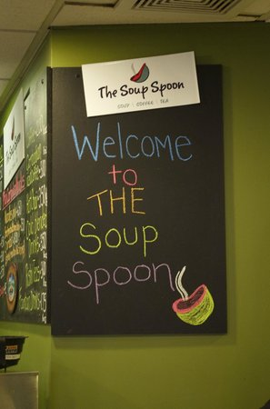 The Soup Spoon: Welcome Glad you stopped in