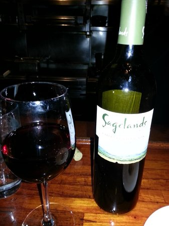 13 Coins SeaTac: Nice bottle of wine