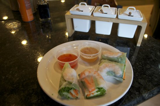 The Soup Spoon: Shrimp Spring Rolls