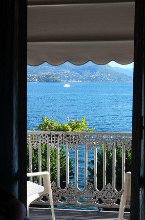 Albergo Sempione: The view from our balcony over Lago Maggiore