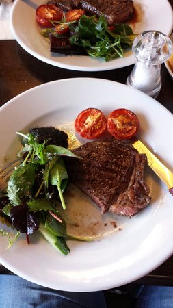 The Kings Arms: Good steak