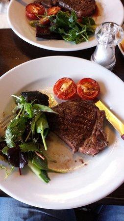 The Kings Arms : Good steak