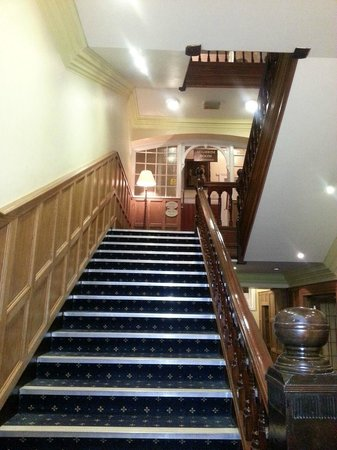 Lucan Spa Hotel: Staircase