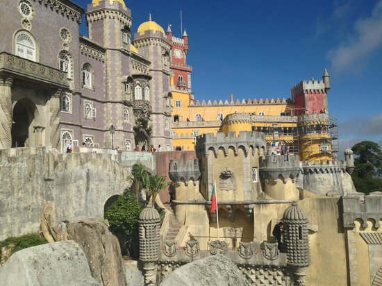Palacio Nacional de la Pena: castelo