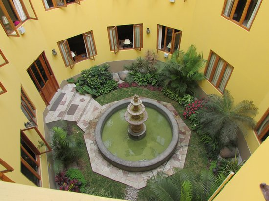 Antigua Miraflores Hotel: Back View from hotel Room