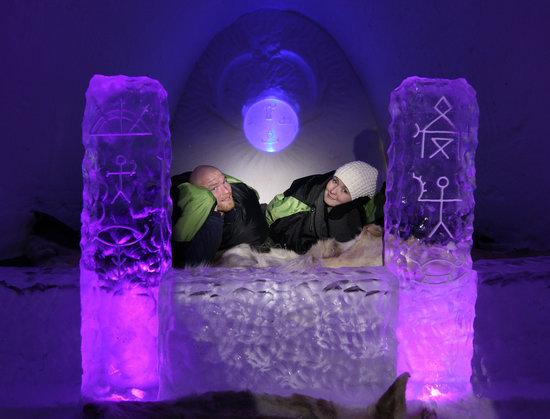 Luvattumaa - Levi Ice Gallery: Luvattumaa-Levi Ice Gallery
