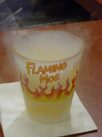 The Flaming Moe souvenir drink - Foto di Universal Orlando Resort ...