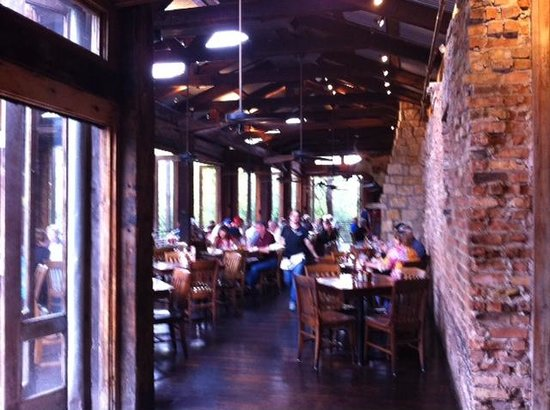 Gristmill: Indoor seating