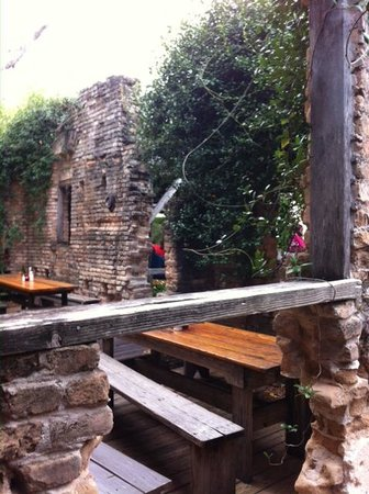 Gristmill: Outside seating