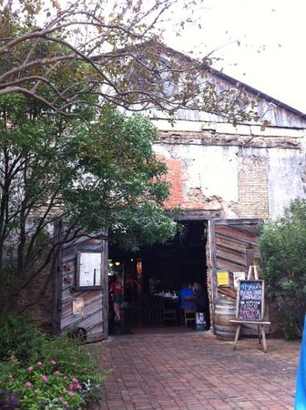 Gristmill: Entry into the restaurant