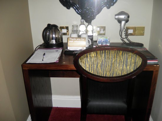 The Briar Rose Hotel: Table had a bit of everything on it