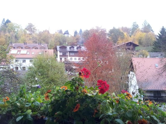 Pension Vilsmeier: Lovely view from the balcony