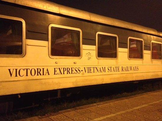 Victoria Sapa Resort and Spa: Tren Victoria Express Hanoi-Sapa
