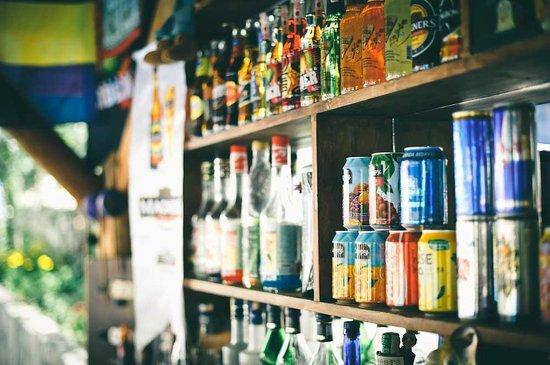 Ozturk Hotel Hisaronu: DRINKS OPTIONS AT BAR