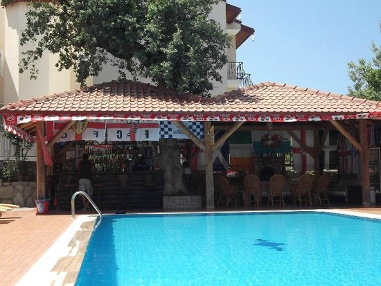 Ozturk Hotel Hisaronu: BAR & CHILL OUT ZONE