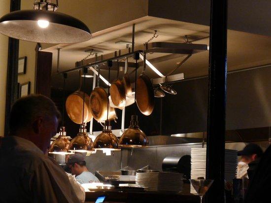 PUBLIC eat+drink: Public open kitchen detail.