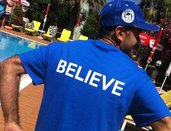 Ozturk Hotel Hisaronu: YES BELIEVE