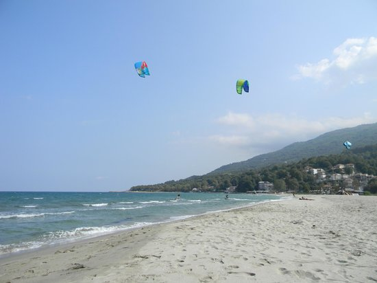 Stomio, Greece: Kites