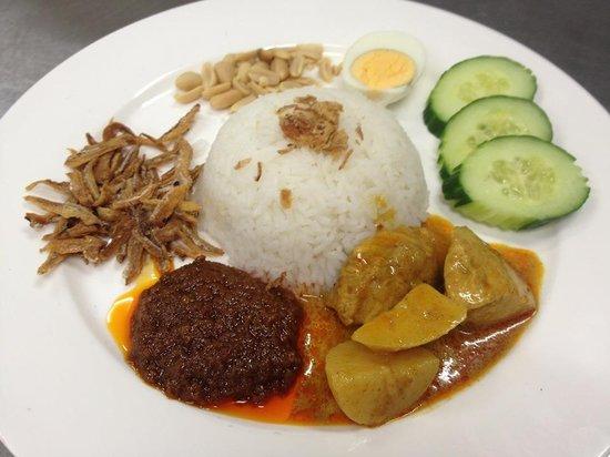 Marlston: Nasi Lemak (Coconut Rice)