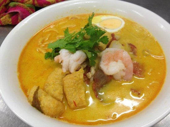 Marlston: Curry Laksa Noodle Soup