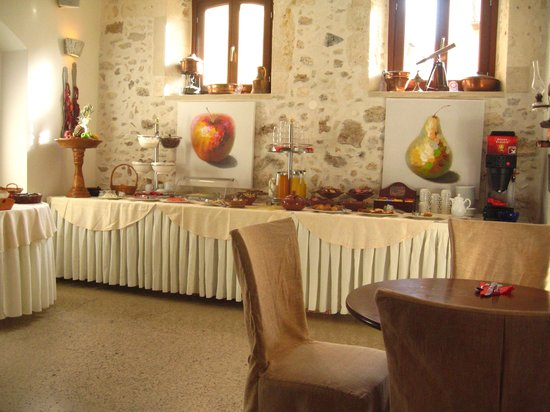 Palazzino di Corina: Breakfast room