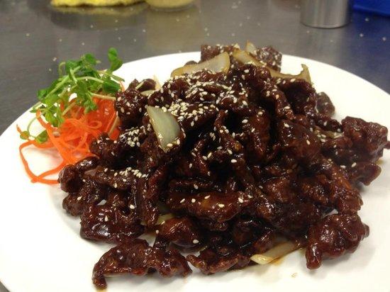 Marlston: Crisp Szechuan Beef