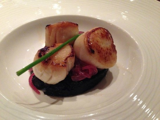 Heathmount Hotel: Scallop as a starter