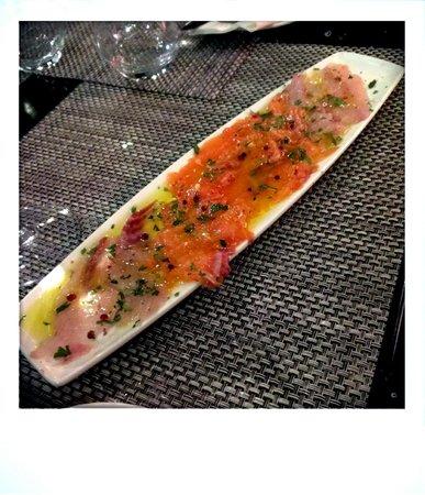 Pane E Olio: Seefood carpaccio