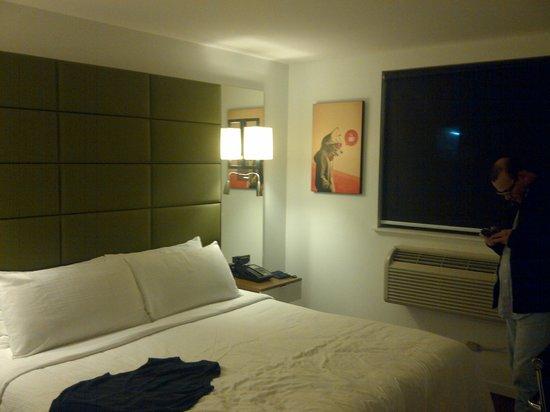 Hotel BPM Brooklyn: A perfect, small room.