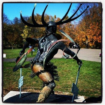 Minnesota Landscape Arboretum : Apache Spirit Dancer