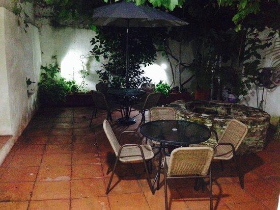 Hotel Casa Pedro Romero : Patio