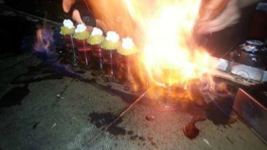 Espit Chupitos: Burn!!!
