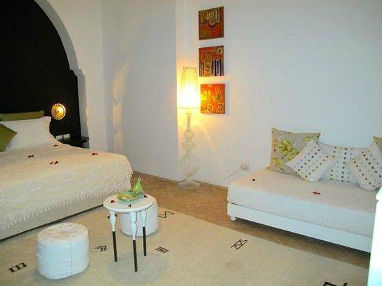 Riad Nashira & Spa : Ecco la nostra camera da letto