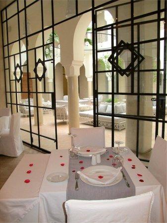 Riad Nashira & Spa : Dalla sala ristorante