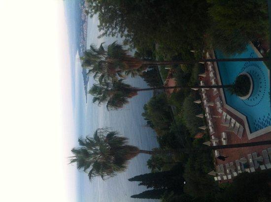 Hotel Villa Belvedere: Vista dalla camera da letto